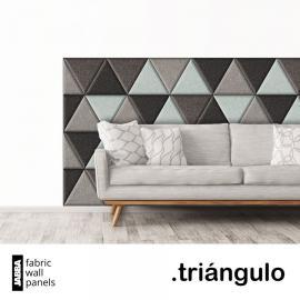 Čalouněné panely Triángulo