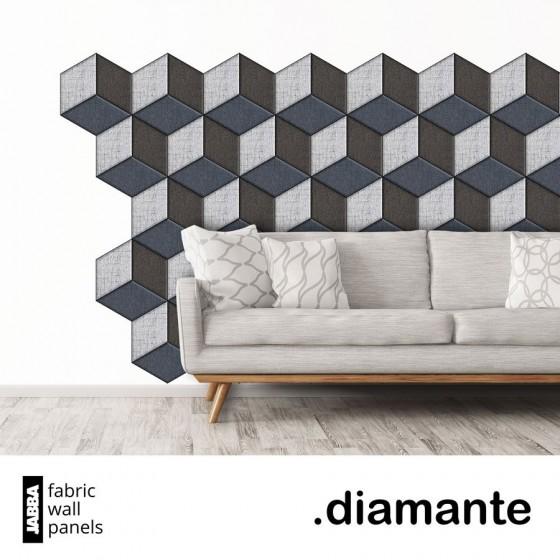 Čalouněné panely Diamante