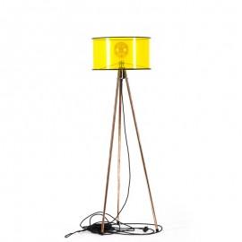 Lampa stojací Tripod Clear