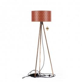 Lampa stojací Tripod Geometric